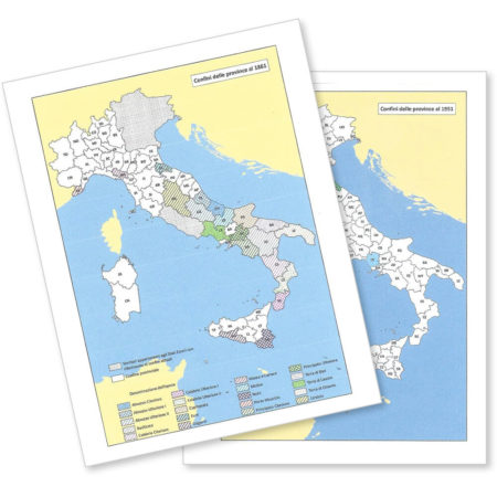 Historical maps of the regions and provinces of Italy